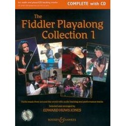 THE FIDDLER PLAYALONG COLLECTION VOL.1 (+CD)