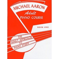 AARON - ADULT PIANO COURSE BOOK 1