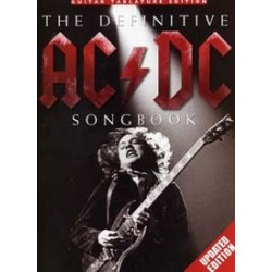 Songbook THE DEFINITIVE AC/DC SONGBOOK