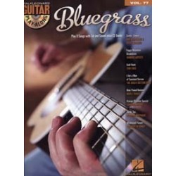 GUITAR PLAY-ALONG VOL.77 BLUEGRASS (+CD)