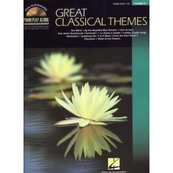 PIANO PLAY-ALONG VOL.97 GREAT CLASSICAL THEME (+CD)