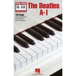 PIANO CHORD SONGBOOK : THE BEATLES A-I