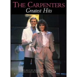 Songbook THE CARPENTERS GREATEST HITS The Carpenters
