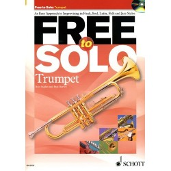 FREE TO SOLO TRUMPET (+CD)