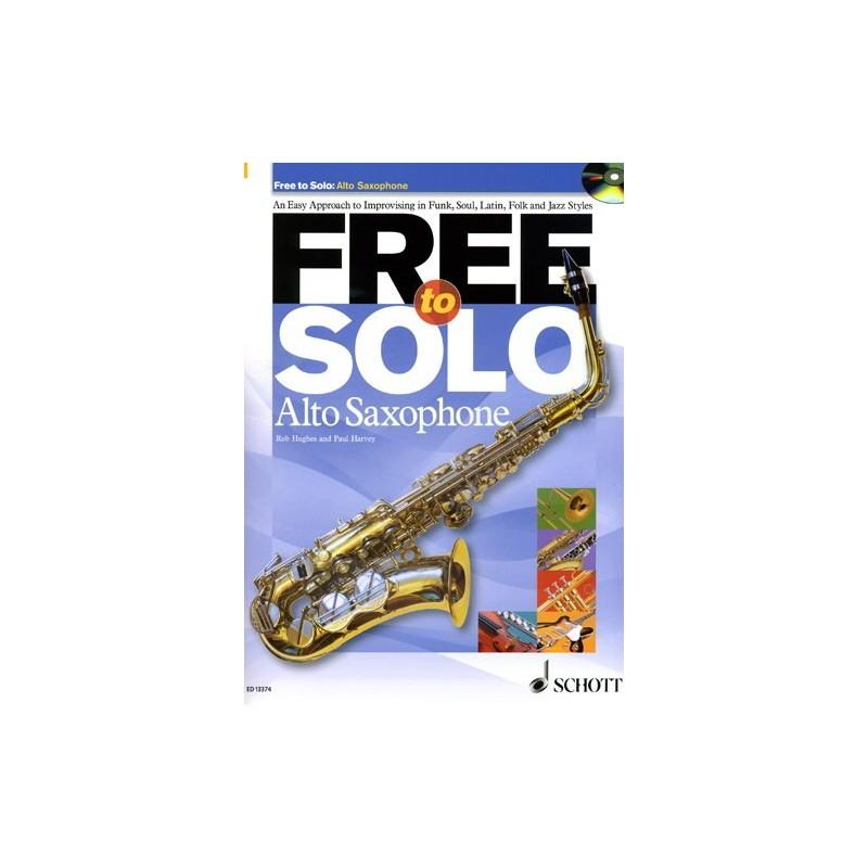 FREE TO SOLO ALTO SAXOPHONE (+CD)
