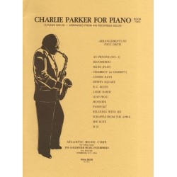 CHARLIE PARKER FOR PIANO - BOOK 2