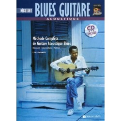 BLUES GUITARE ACOUSTIQUE DÉBUTANT (+CD)