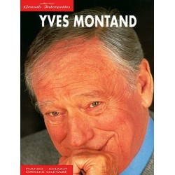 Songbook GRANDS INTERPRETES YVES MONTAND