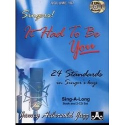 AEBERSOLD VOL.107 - IT HAD TO BE YOU (+CD)