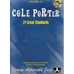 AEBERSOLD 112 COLE PORTER 21 GREAT STANDARDS (+ 2CD)