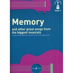 EASY UKE LIBRARY BOOK 3 - MEMORY AND OTHER GREAT SONGS FROM THE BIGGEST MUSICALS