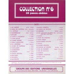 COLLECTION N°6 - PASOS DOBLES