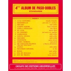 4ème ALBUM PASO-DOBLES (STANDARDS)