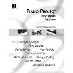 PIANO PROJECT - New pieces for piano