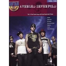 GUITAR PLAY-ALONG VOL.134 - AVENGED SEVENFOLD (+CD)