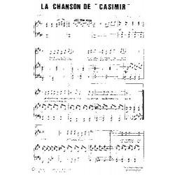 LA CHANSON DE CASIMIR