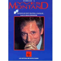 HOMMAGE À YVES MONTAND