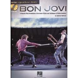 GUITAR SIGNATURE LICKS - BON JOVI (+CD)