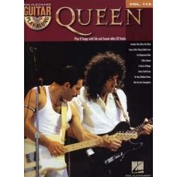 GUITAR PLAY-ALONG VOL.112 - QUEEN (+CD)