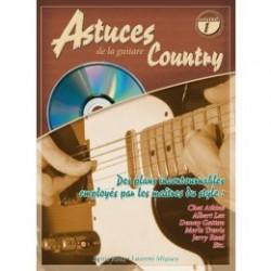 ASTUCES DE LA GUITARE COUNTRY Vol.1 (+CD)
