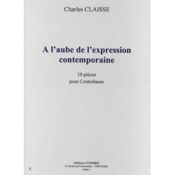 A L'AUBE DE L'EXPRESSION CONTEMPORAINE (10 PIÈCES)