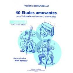 ETUDES AMUSANTES (40) VOL.4 (31 À 40)