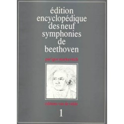 EDITION ENCYCLOPÉDIQUE DES NEUF SYMPHONIES DE BEETHOVEN (1)