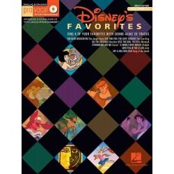 PRO VOCAL VOL.17 : DISNEY'S FAVORITES (+CD)