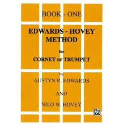 BOOK-ONE EDWARDS-HOVEY METHOD FOR CORNET OR TRUMPET
