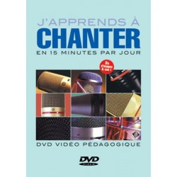 J'APPRENDS À CHANTER EN 15 MINUTES PAR JOURS (DVD)