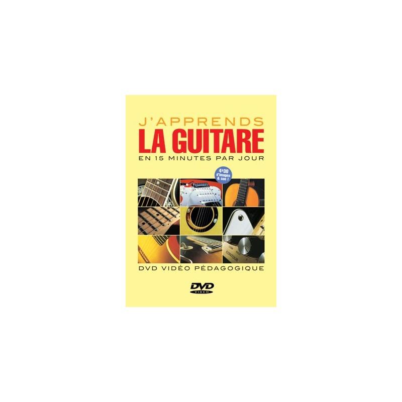 J'APPRENDS LA GUITARE EN 15 MINUTES PAR JOUR (DVD)