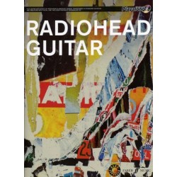RADIOHEAD GUITAR - AUTHENTIC PLAY-ALONG (+CD)