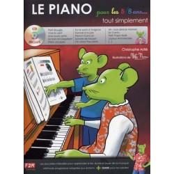 LE PIANO POUR LES 5/8 AS TOUT SIMPLEMENT (+CD)