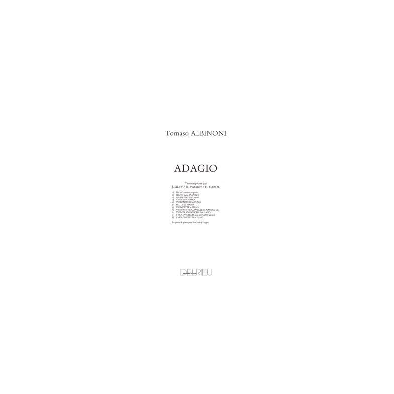 ADAGIO (violoncelle et piano)