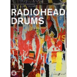 RADIOHEAD DRUMS - AUTHENTIC PLAY-ALONG (+CD)