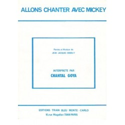 ALLONS CHANTER AVEC MICKEY