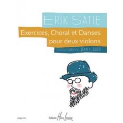 Exercices, Choral et Danses pour 2 violons