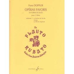 OPERAS FAVORIS EN FORME DE DUOS VOLUME 1