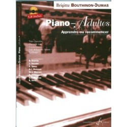 PIANO ADULTES APPRENDRE OU RECOMMENCER