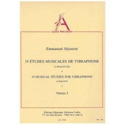 19 MUSICAL STUDIES FOR VIBRAPHONE