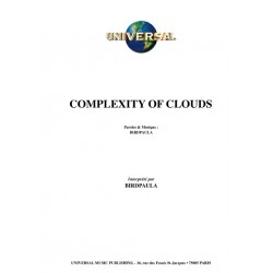 COMPLEXITY OF CLOUDS