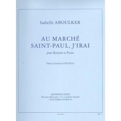 AU MARCHÉ SAINT-PAUL, J'IRAI