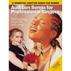 AUDITION SONGS FOR PROFESSIONAL SINGERS (+CD)
