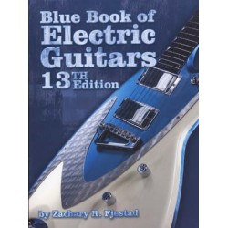 BLUE BOOK OF ELECTRIC GUITARS 13TH EDITION
