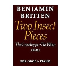 TWO INSECT PIECES FOR OBOE AND PIANO