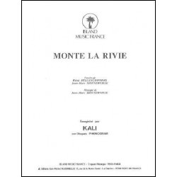 Sheet music MONTE LA RIVIE Kali