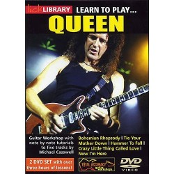 LICK LIBRARY LEARN TO PLAY QUEEN (2 DVD)