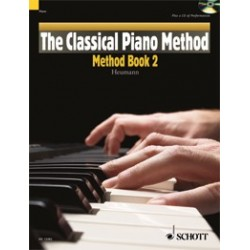 THE CLASSICAL PIANO METHOD : METHOD BOOK 2 (+CD)