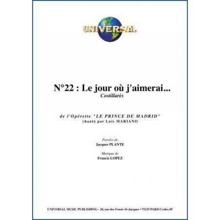 LE JOUR OÙ J'AIMERAI...