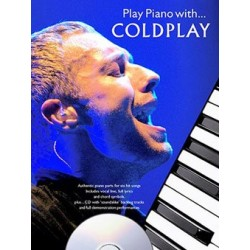 PLAY PIANO WITH COLDPLAY (+CD)